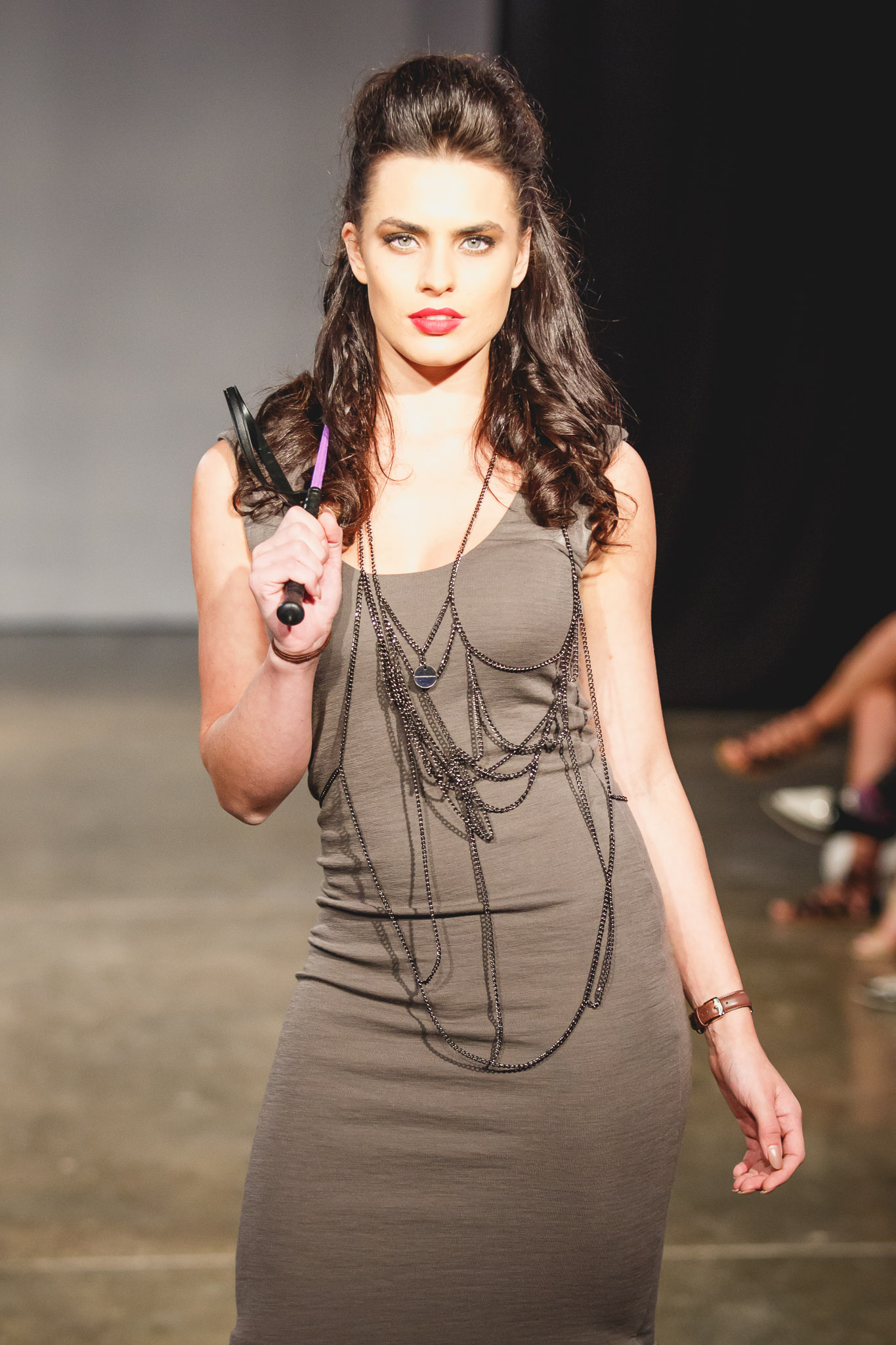 Holly Young Model in Show