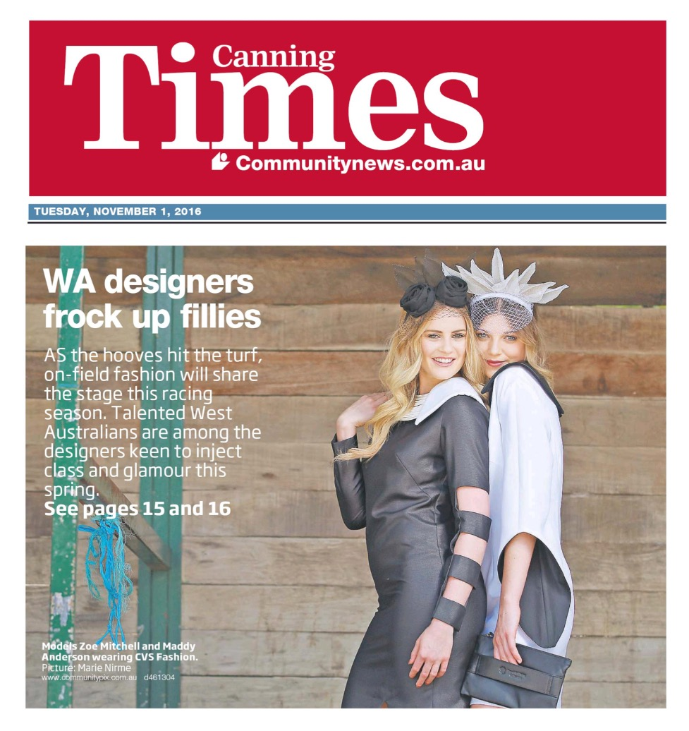 Community Newspaper Group - Canning Times - 1 Nov 2016 - Page #1 copy_edited