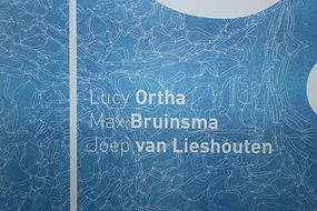 Qua Aqua Affiche Detail Risoprint Structure applied at the Affiche Typography in White by Demi Horsman