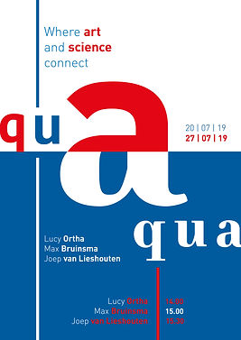 Affiche Aqua Graphic Design by Demi Horsman