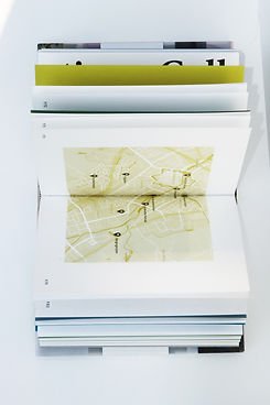 What If Book Design Inside Cartography and Information Design by Demi Horsman