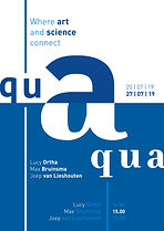 Affiche Aqua Digital Sketches for a ProContra Typography Design by Demi Horsman