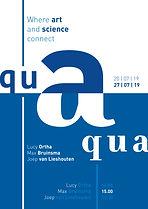 Affiche Aqua Digital Sketches for a ProContra Typography Design by Demi Horsman