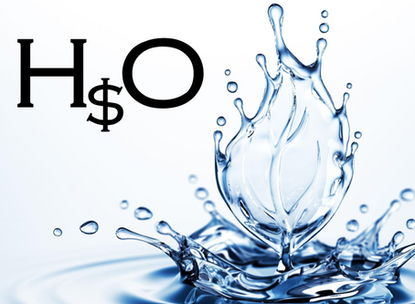 Water will be more expensive than you think.
