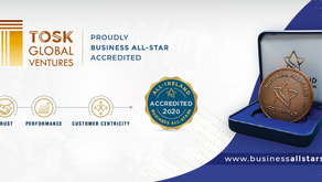 Received Business All-Star Accreditation