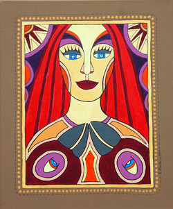 Woman With The Red Hair