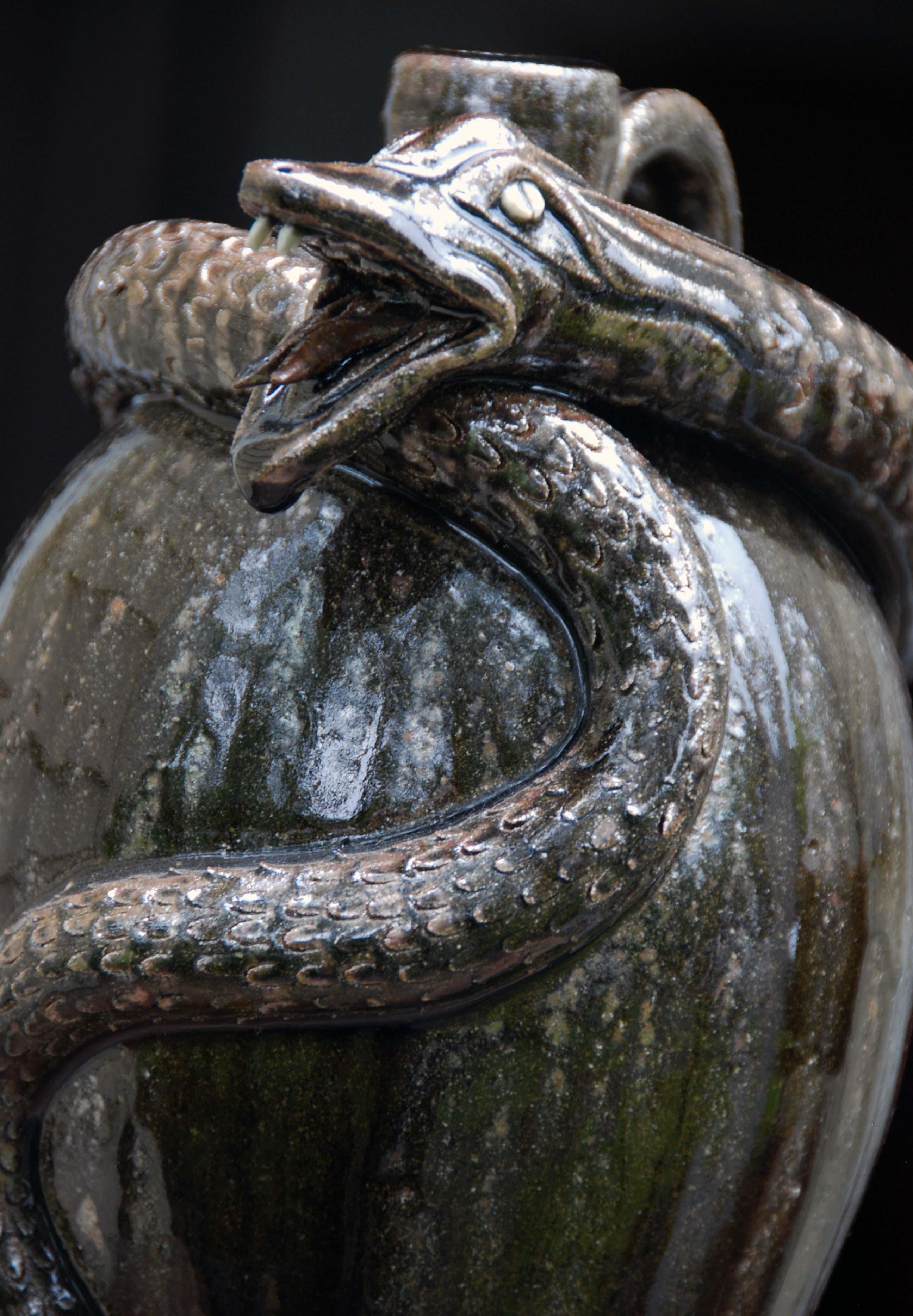 Chad Smith - Snake Jug - Detail