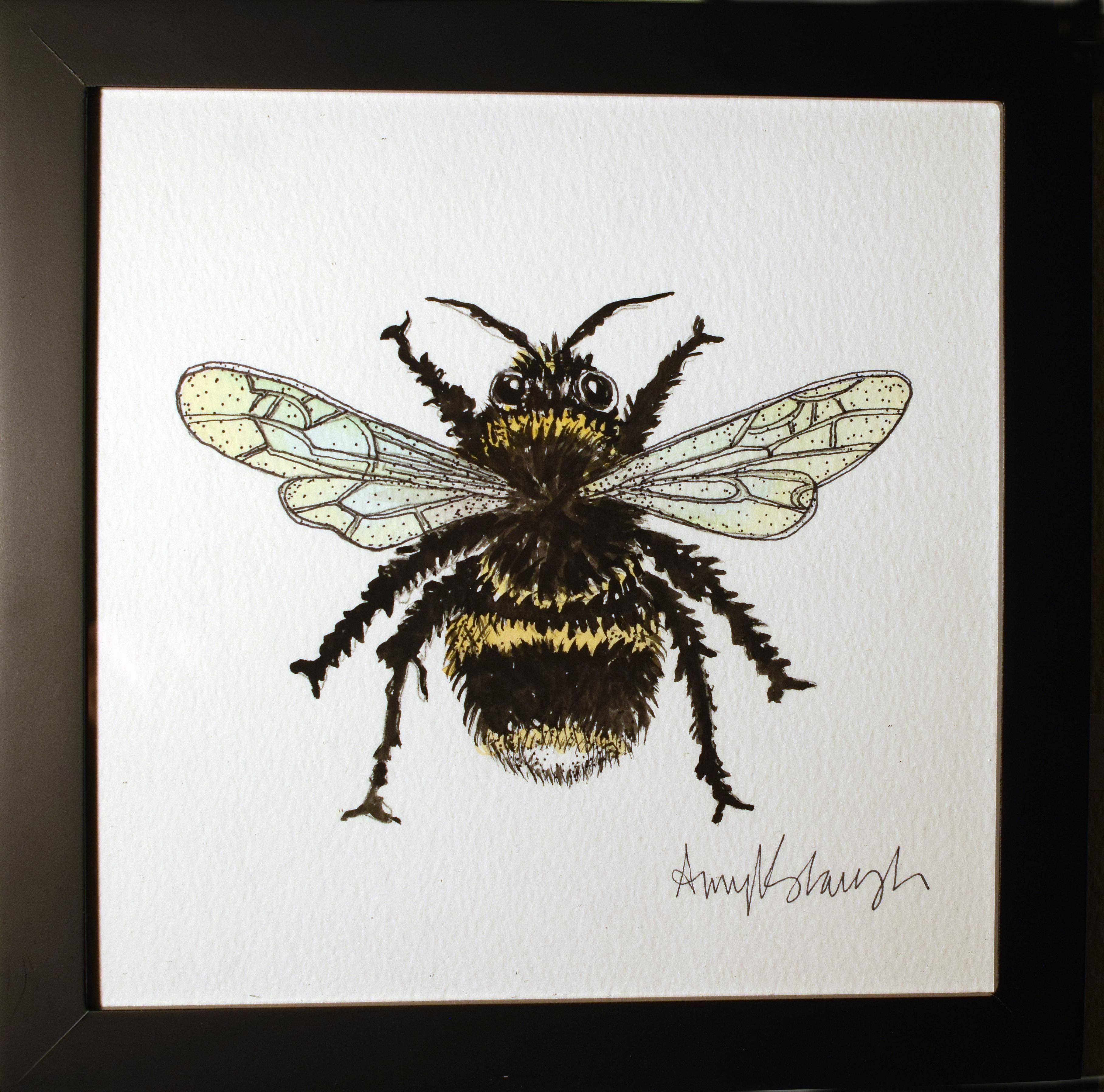 Fuzzy Butt Bumblebee