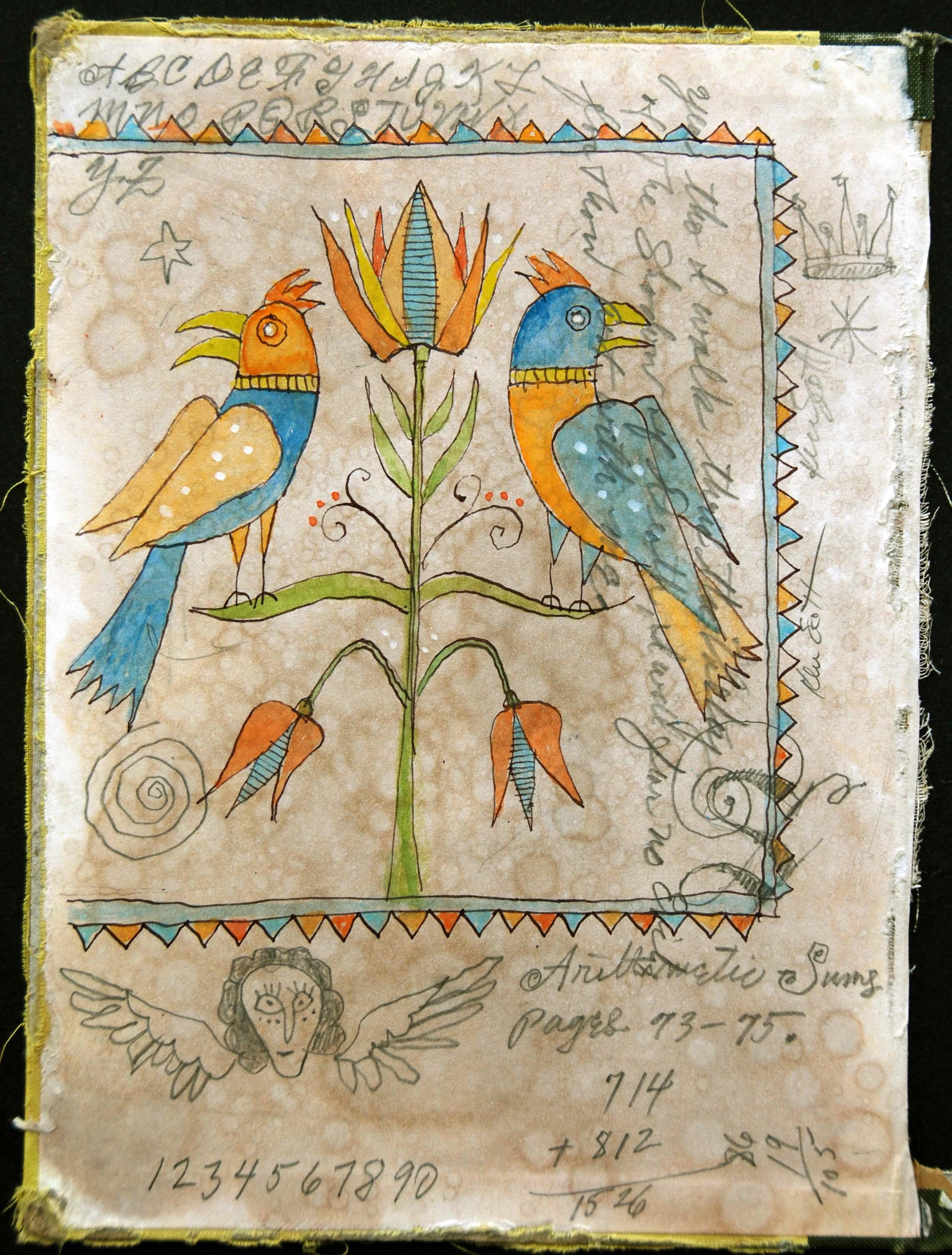 Two Birds 8 x 10.5 $300