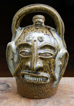 Billy Ray Hussey - Devil Monkey Jug - 9 inches