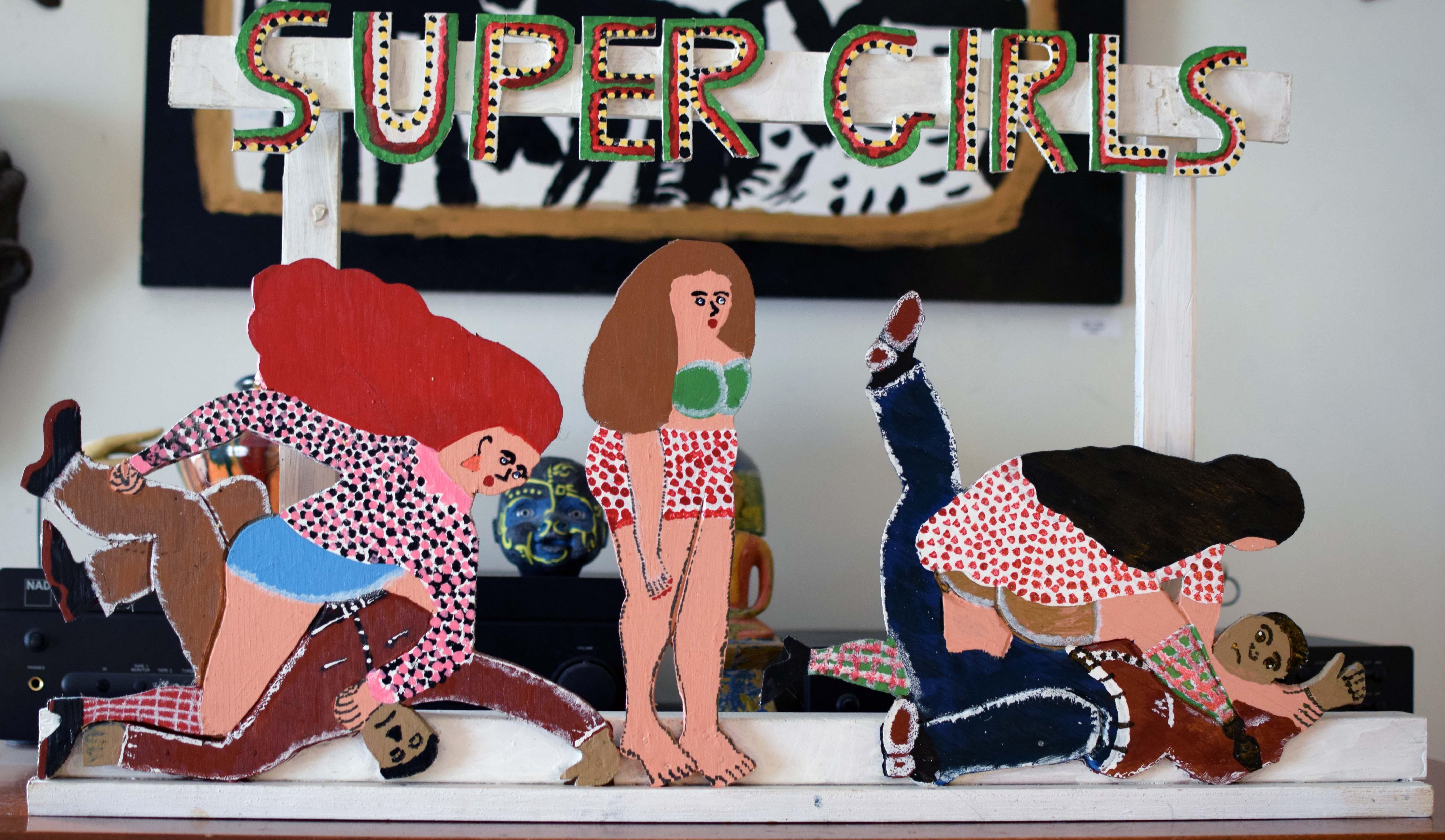 """Super Girls""  James Harold Jennings"