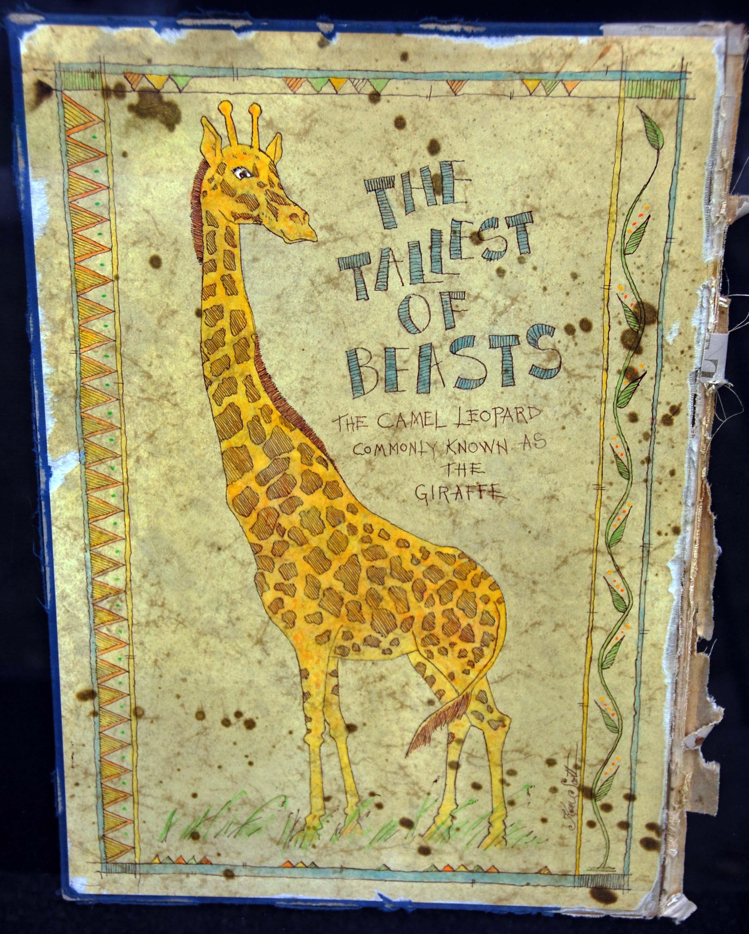 Giraffe 12 x 16   $600