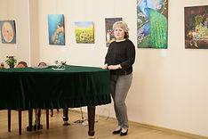 Открытие выставки Аллы Сергейчик фото 1.