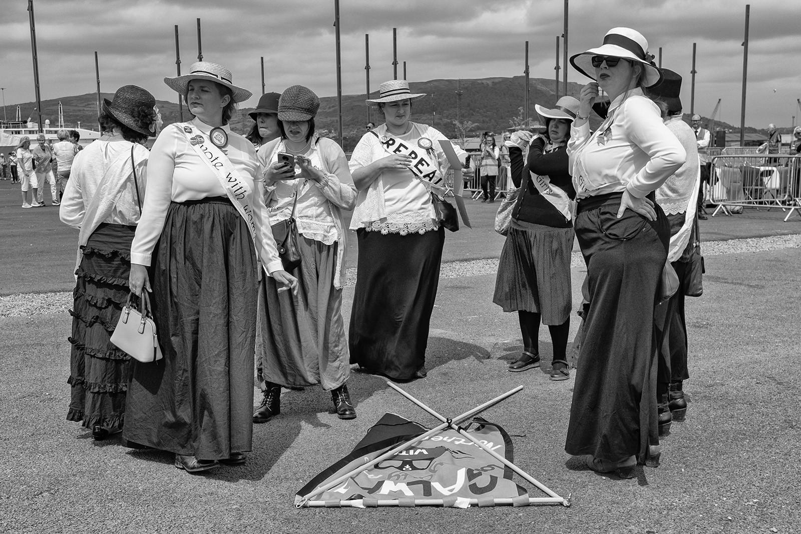 MONO - Celebrating Womans Sufferage by Glen Banna (10 marks)