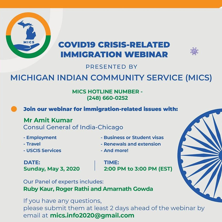 COVID-19 CRISIS-Related Immigration Webinar