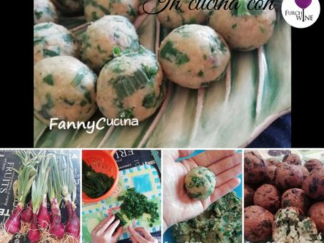In cucina con Furchì wine: piovono polpette