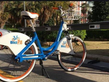 Bike sharing a Tropea