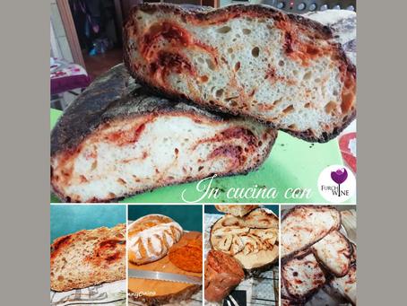 In cucina con Furchì wine: pane alla N'duja