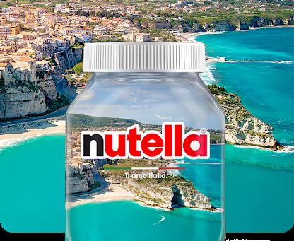 """Tropea vince e sarà sui vasetti della Nutella """"Ti amo Italia 2021"""""""