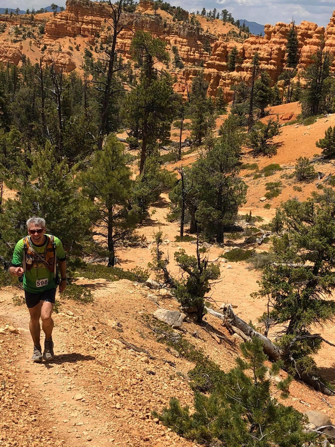 Tim Barry, GCI Director of Engineering, runs 50 mile race in Utah