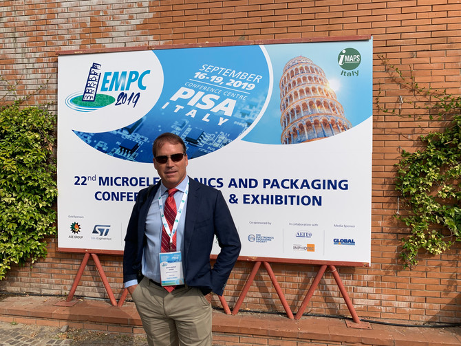 Erick Spory presented at the 22nd Microelectronics and Packaging Conference (EMPC)
