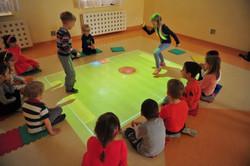 Mobilt interaktivt gulv fra funnyfloor.dk