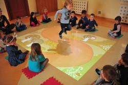 Interaktivt gulv - fra funnyfloor.dk - interaktive gulve
