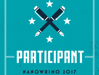 NaNo 2017, Here I Come!