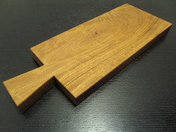 Cutting Board with Crafted Handle.