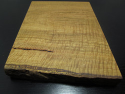 Cutting Board with Natural Edge.