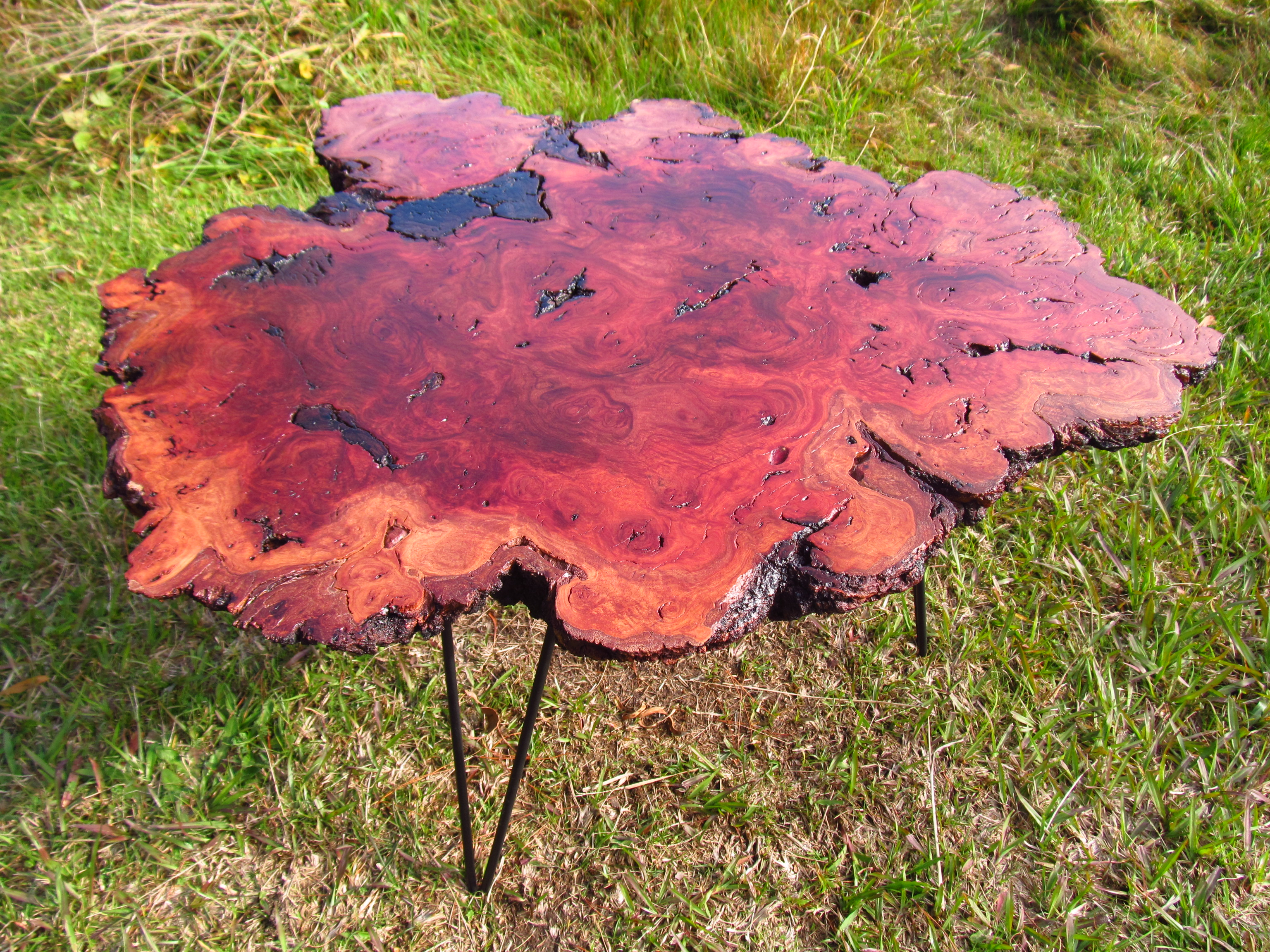 River Red Gum Burl Table.