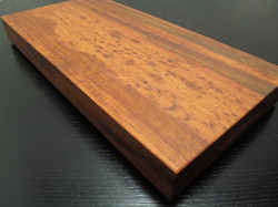 Cutting Board with Slot Handles.