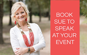 Book Sue for your event