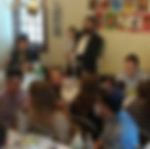 Passover Seder at Hamilton College is awesome with Chabad