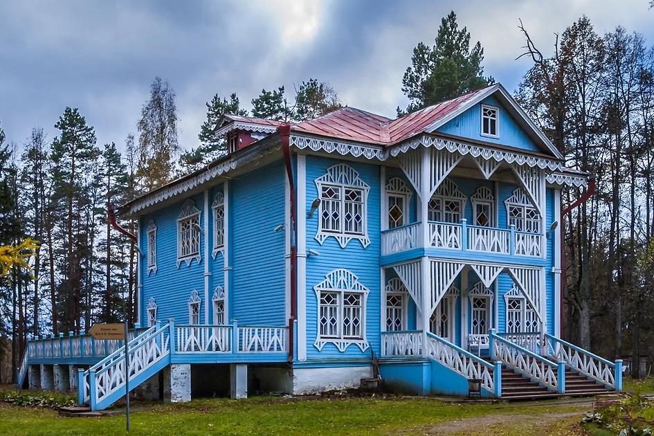Музей-усадьба А. Н. Островского в Щёлыко