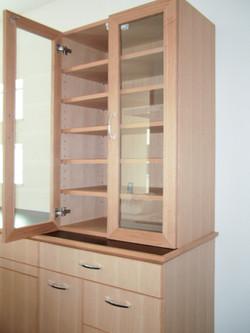 食器棚(突板塗装)-1