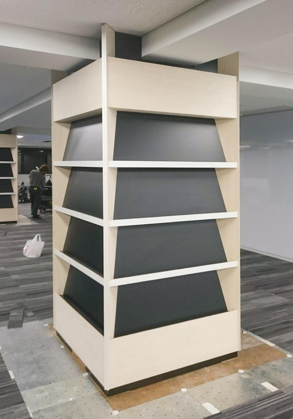 オフィス本棚③-1