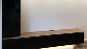 8.21 テレビボード                                  (ダウンライト、間接照明付)