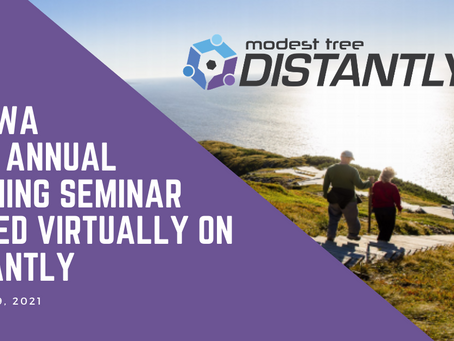 Modest Tree's Distantly Selected as Platform of Choice for MPWWA's 2021 Online Training Seminar