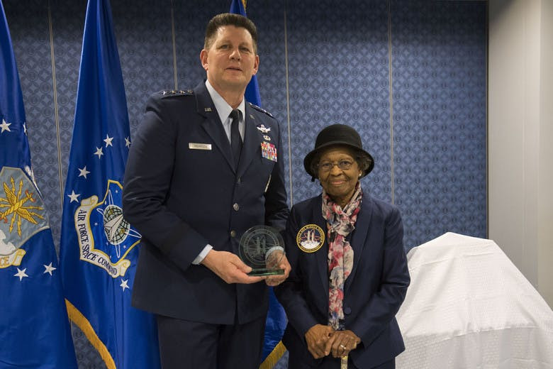 Woman of Tech, Dr. Gladys West, receives recognition from US Air Force