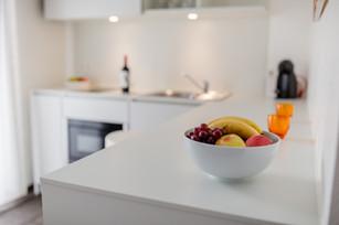 Küchenbereich Basic Apartment