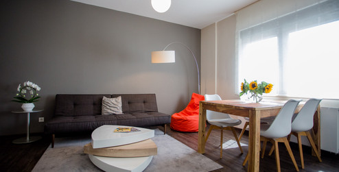 Wohnzimmer Exlusive Apartment