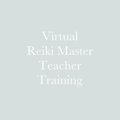 Virtual Reiki Master Teacher Training