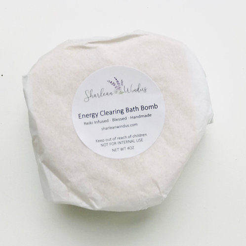 4oz Energy Clearing Bath Bomb