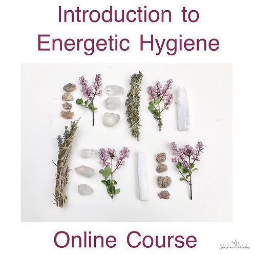 Energetic Hygiene: Online Course