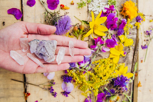60 min. Udemy Crystal Healing Practitioner Coaching Session