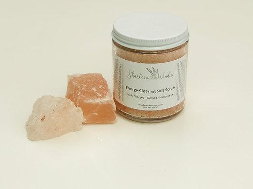 8oz Energy Clearing Salt Scrub