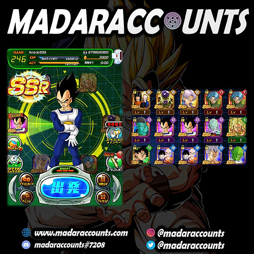 Android/JP: Legendary Account #333