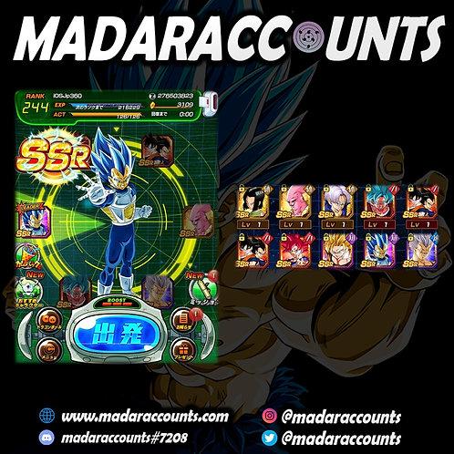 iOS/JP: Legendary Account #360
