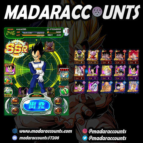 Android/JP: Legendary Account #336